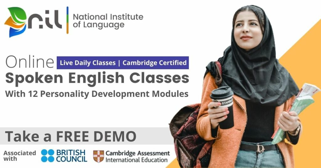 Best Online Spoken English course in India Best online English speaking classes in India National Institute of Language